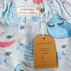 "New fabric: ""Sleepy Whale"""
