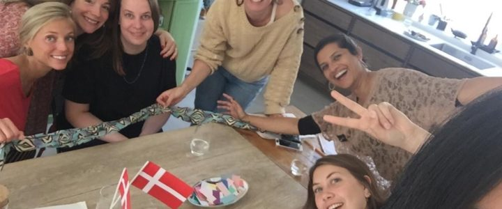 goodmakes baby shower workshop in Copenhagen